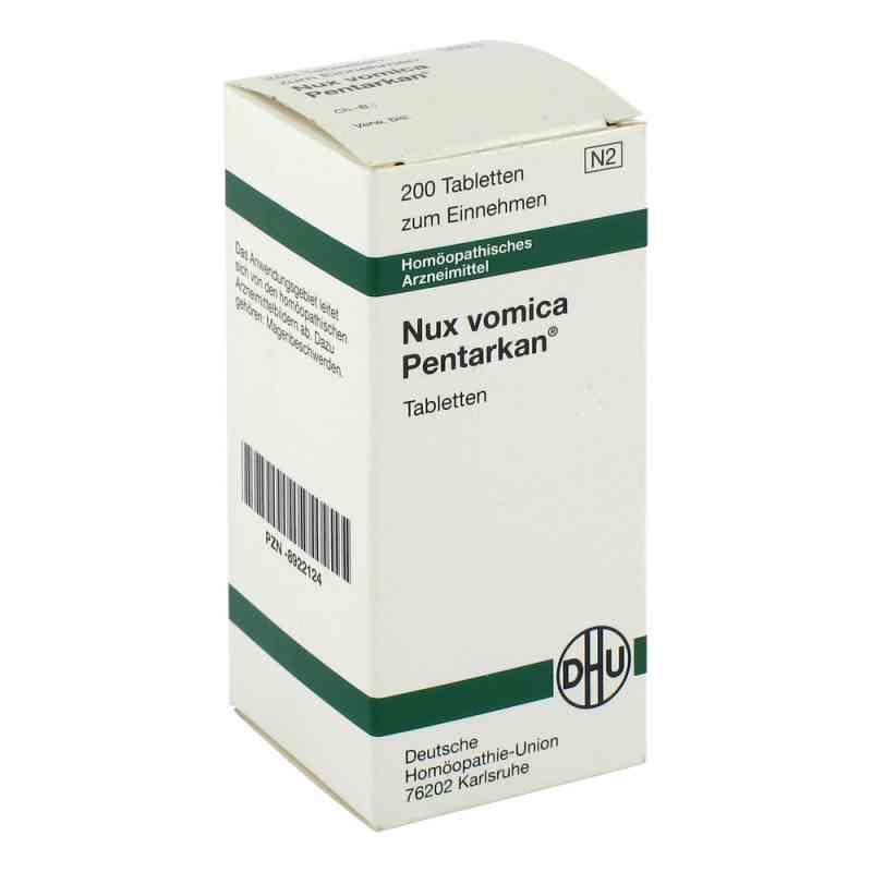Nux Vomica Pentarkan Tabletten  bei Apotheke.de bestellen