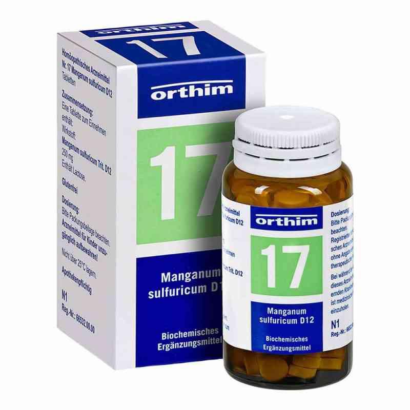 Biochemie Orthim 17 Manganum sulfuricum D12 Tabletten   bei Apotheke.de bestellen