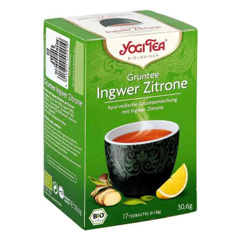 Yogi Tea Grüntee Ingwer Zitrone Bio Filterbeutel  bei Apotheke.de bestellen