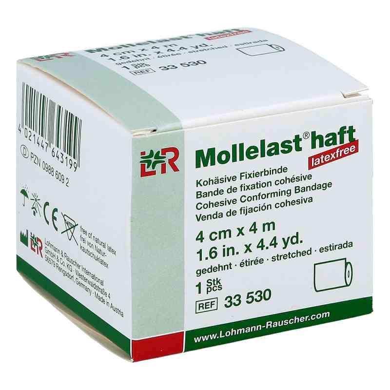 Mollelast haft latexfrei 4cmx4m gedehnt weiss  bei Apotheke.de bestellen