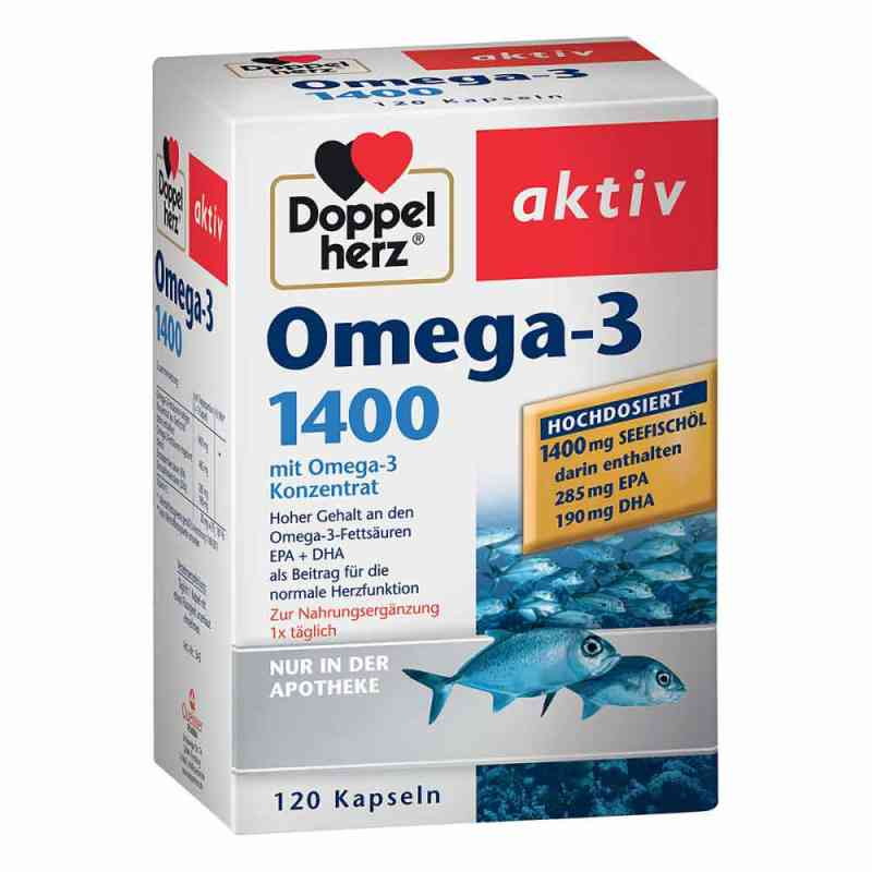 Doppelherz Omega-3 1.400 Kapseln  bei Apotheke.de bestellen