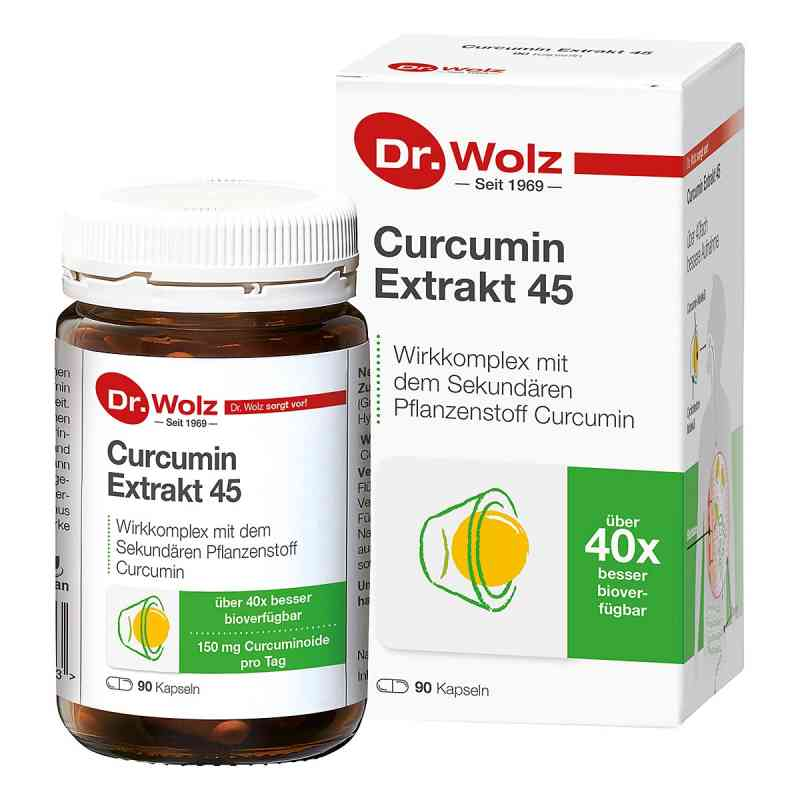Curcumin Extrakt 45 Doktor wolz Kapseln  bei Apotheke.de bestellen