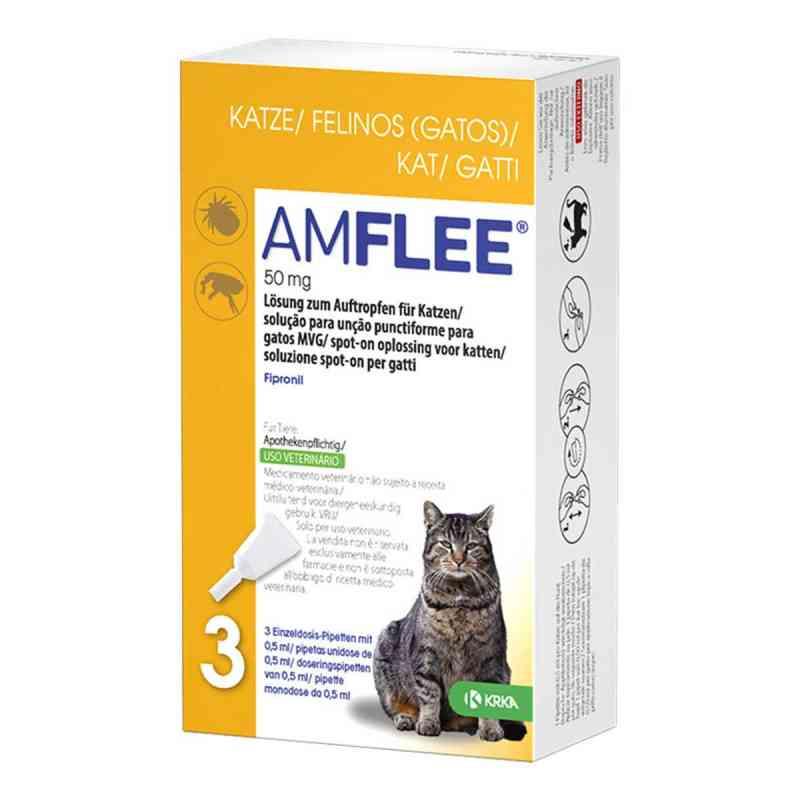 Amflee 50 mg Lösung zum Auftropfen für Katzen  bei Apotheke.de bestellen