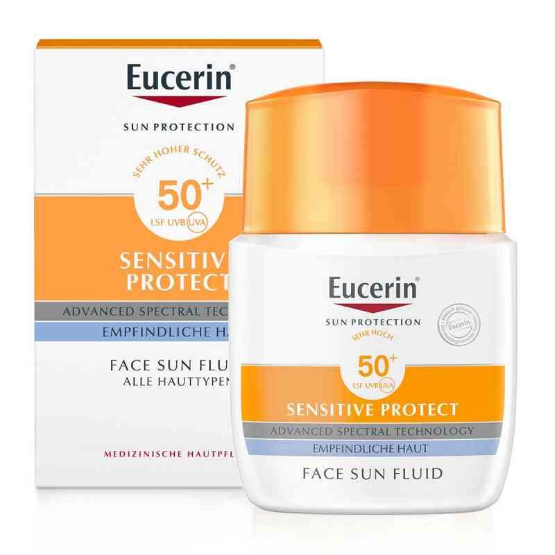 Eucerin Sun Fluid mattierend Lsf 50+  bei Apotheke.de bestellen