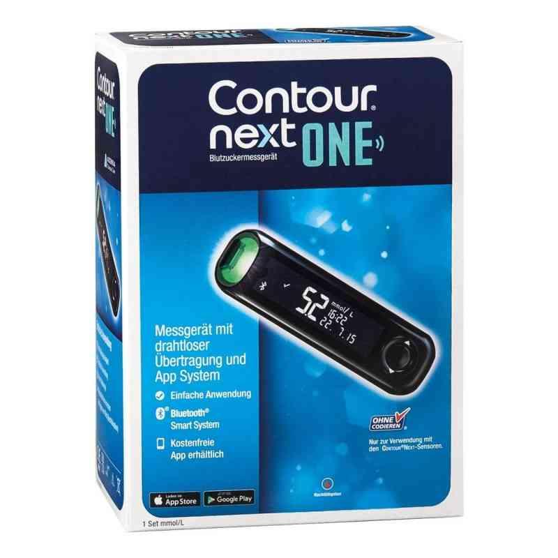 Contour Next One Blutzuckermessgerät Set mmol/l  bei Apotheke.de bestellen