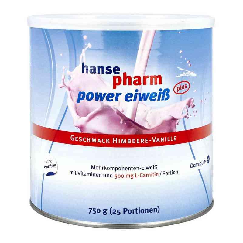 Hansepharm Power Eiweiss plus Himbeere vanille Plv 750 g