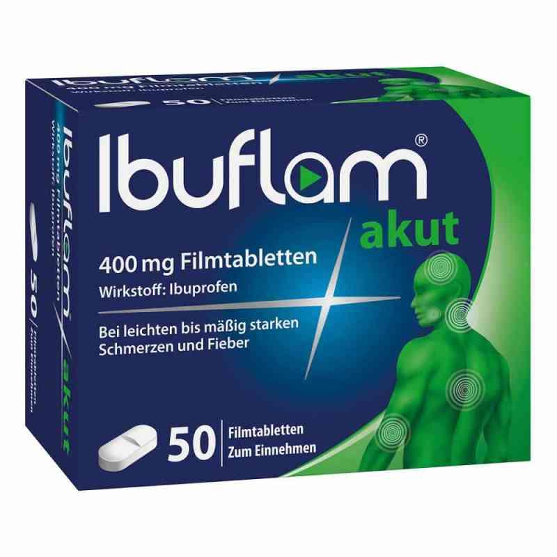 Ibuflam Akut 400 mg Ibuprofen Schmerztabletten  bei Apotheke.de bestellen