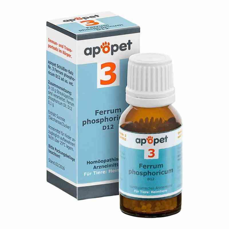 Apopet Schüssler-salz Nummer 3  Ferrum phosphoricum D  12 veteri  bei Apotheke.de bestellen
