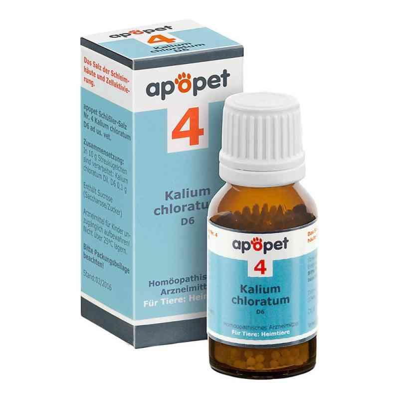 Apopet Schüssler-salz Nummer 4 Kalium chlor.D 6 veterinär  bei Apotheke.de bestellen