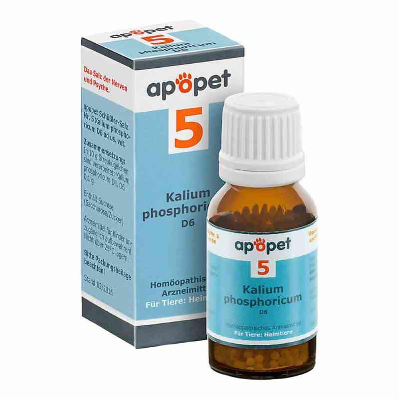 Apopet Schüssler-salz Nummer 5 Kalium phosphoricum D6 veterinär  bei Apotheke.de bestellen