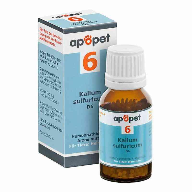 Apopet Schüssler-salz Nummer 6 Kalium sulf.D 6 veterinär  bei Apotheke.de bestellen