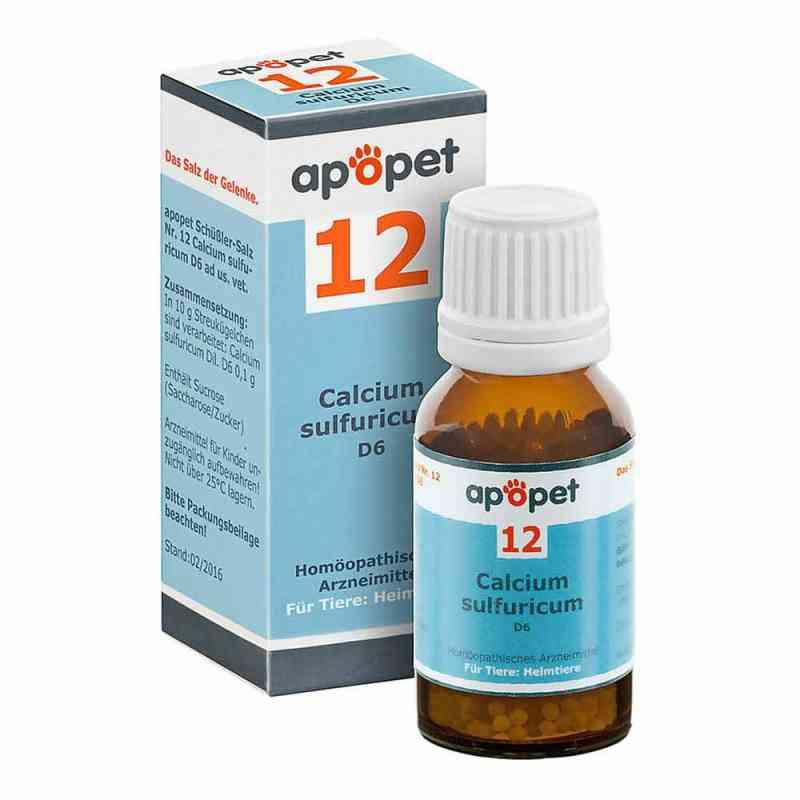 Apopet Schüssler-salz Nummer 12 Calcium sulf.D 6 veterinär  bei Apotheke.de bestellen