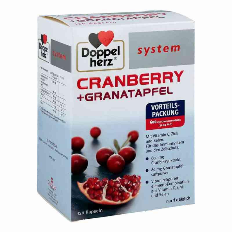 Doppelherz Cranberry+granatapfel system Kapseln  bei Apotheke.de bestellen