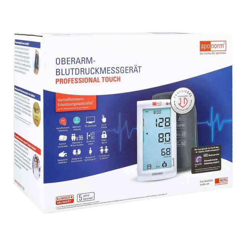 Aponorm PROFESSIONELL Touch Blutdruckmessgerät Oberarm  bei Apotheke.de bestellen
