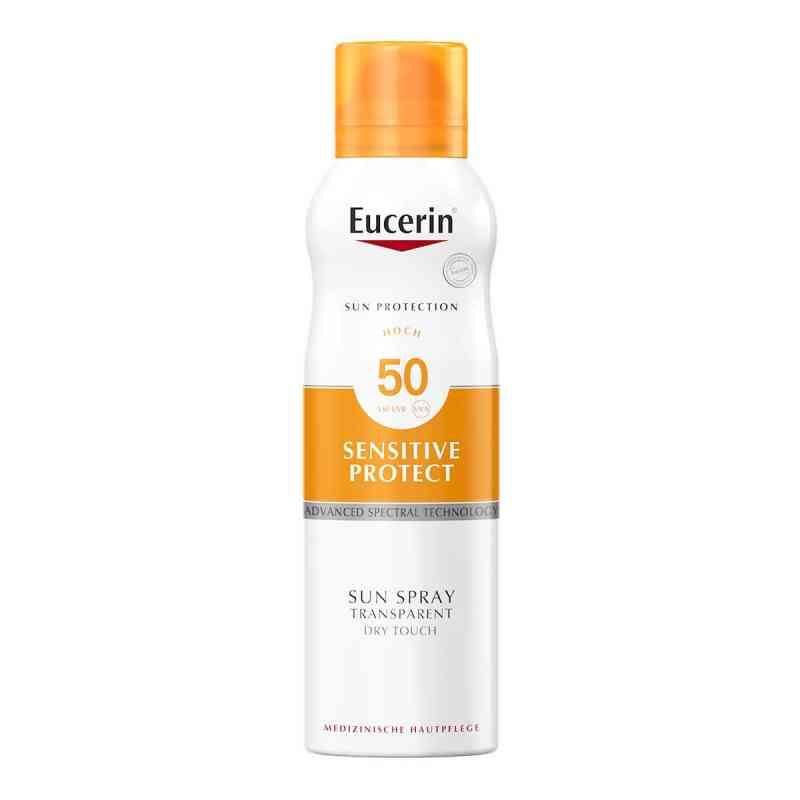 Eucerin Sun Sensitive Protect Spray Transparent Dry Touch LSF 50  bei Apotheke.de bestellen