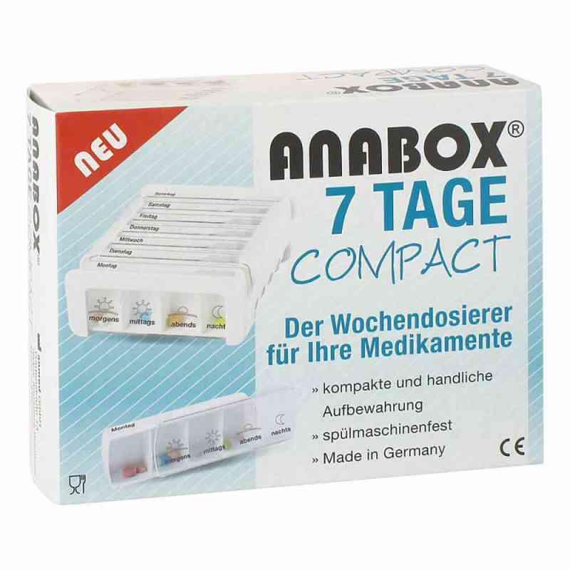Anabox 7 Tage Compact Wochendosierer weiss  bei Apotheke.de bestellen
