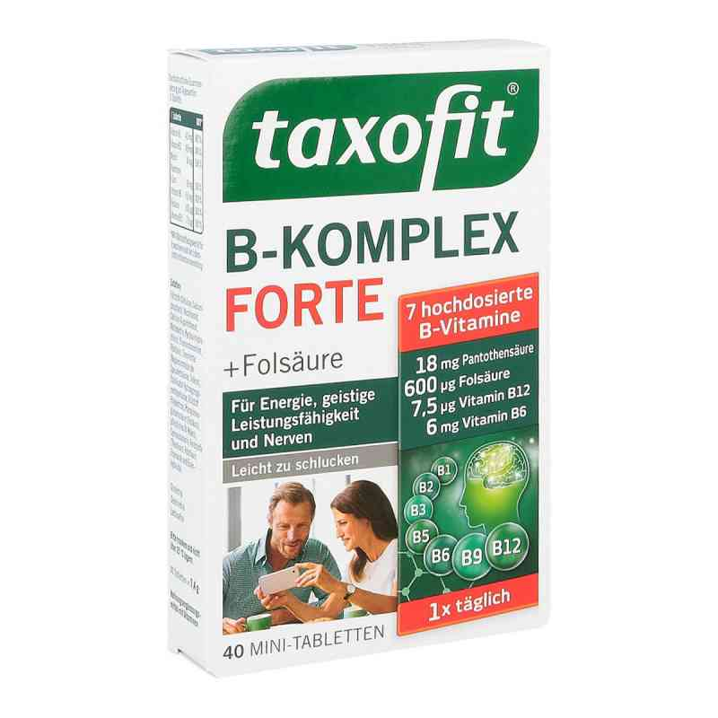taxofit b komplex tabletten 40 stk ihre g nstige online. Black Bedroom Furniture Sets. Home Design Ideas