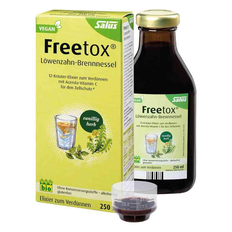Freetox Löwenzahn-brennnessel 12-kräuter-elix.bio  bei Apotheke.de bestellen