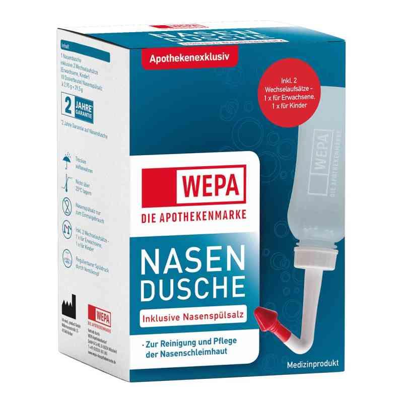 Wepa Nasenspülkanne mit 10x2,95 g Nasenspülsalz  bei Apotheke.de bestellen