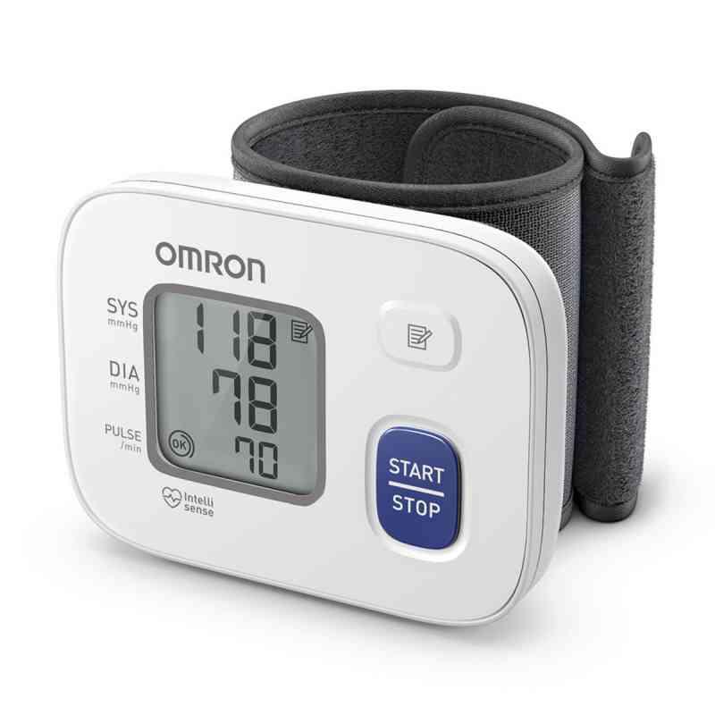 Omron Rs2 Handgelenk Blutdruckmessgerät Hem-6161-d  bei Apotheke.de bestellen