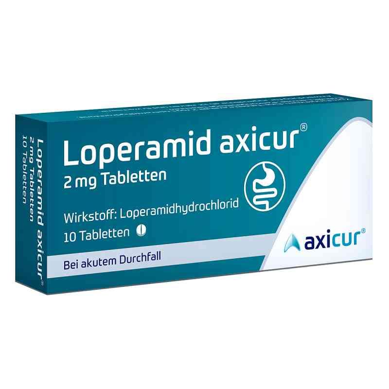 Loperamid axicur 2 mg Tabletten  bei Apotheke.de bestellen