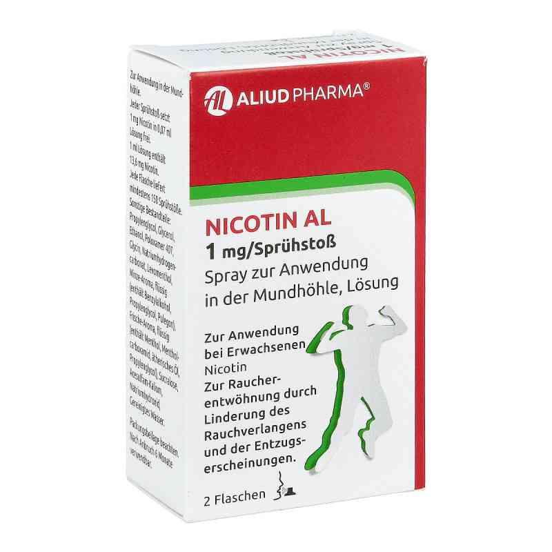 Nicotin Al 1 mg/Sprühstoss Spray zur, zum Anw.i.d.Mundhö.  bei Apotheke.de bestellen
