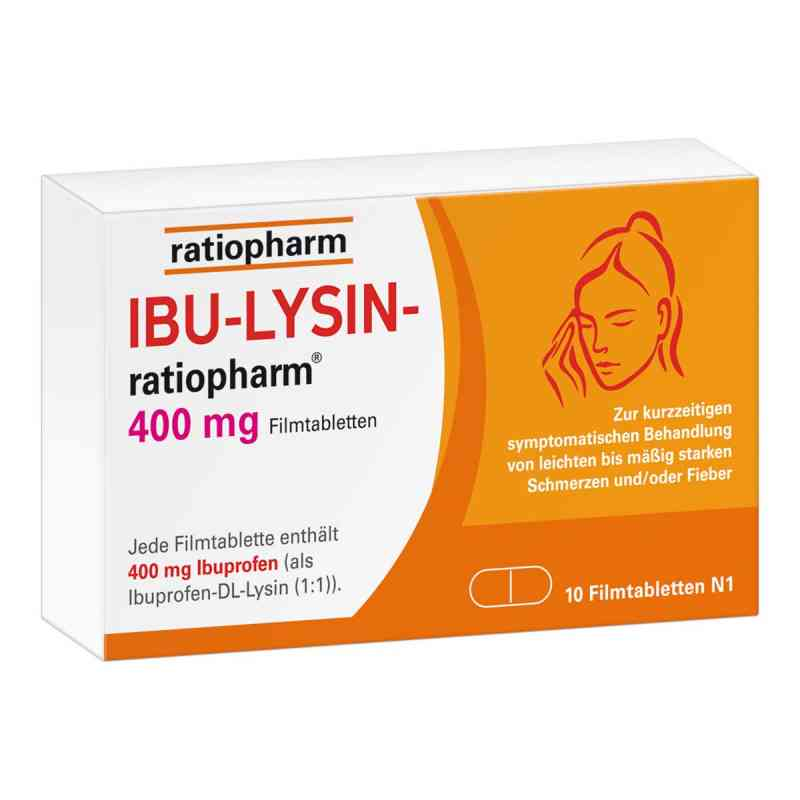 Ibu-lysin-ratiopharm 400 mg Filmtabletten  bei Apotheke.de bestellen
