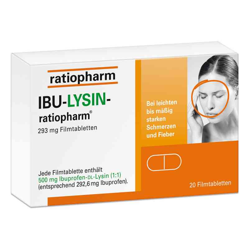 Ibu-lysin-ratiopharm 293 mg Filmtabletten  bei Apotheke.de bestellen