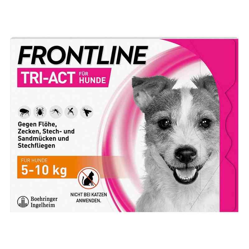 Frontline Tri-Act gegen Zecken, Flöhe bei Hunden (5-10kg)  bei Apotheke.de bestellen
