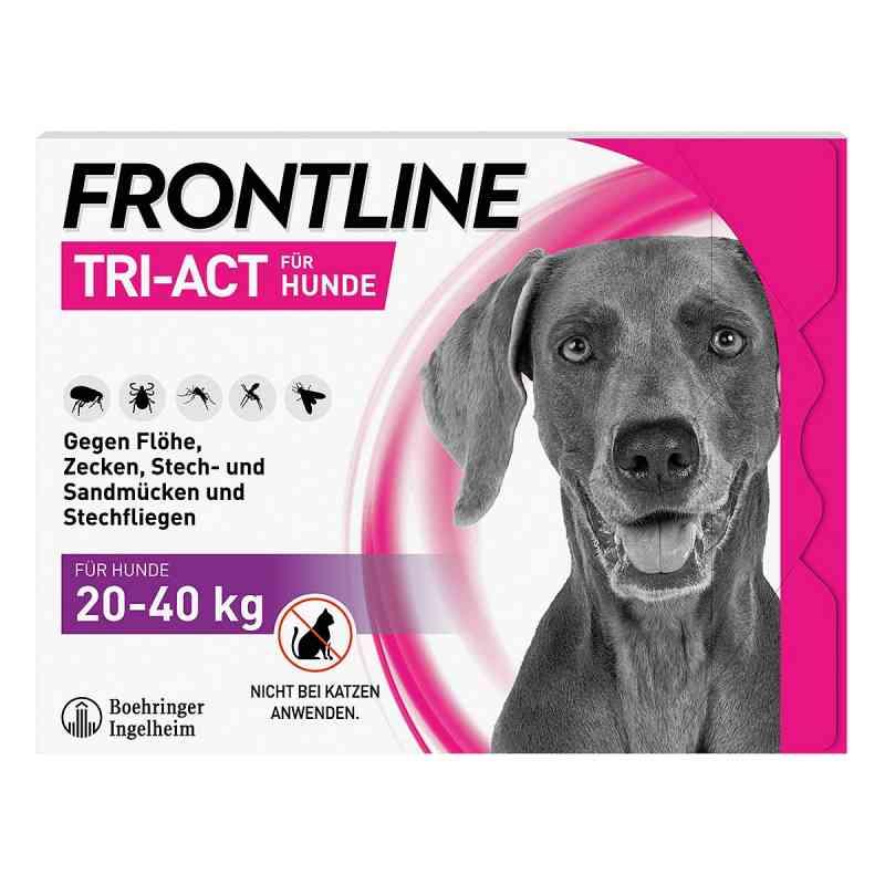 Frontline Tri-Act gegen Zecken, Flöhe bei Hunden (20-40kg)  bei Apotheke.de bestellen