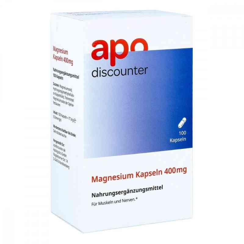 Magnesium Kapseln 400 mg von apo-discounter  bei Apotheke.de bestellen