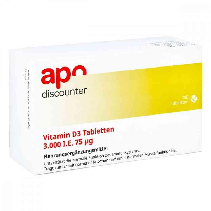 Vitamin D3 Tabletten 3000 I.e. 75 [my]g von apo-discounter  bei Apotheke.de bestellen