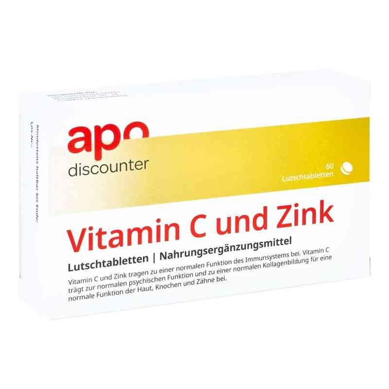 Vitamin C Und Zink Lutschtabletten von apo-discounter  bei Apotheke.de bestellen