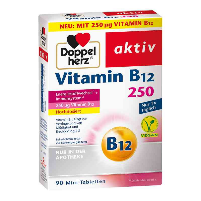 Doppelherz Vitamin B12 250  bei Apotheke.de bestellen