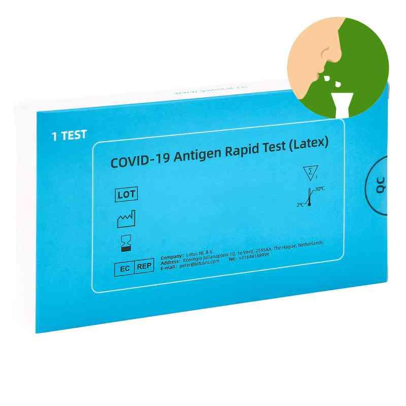 COVID-19 Antigen Saliva Schnelltest (Latex) Spucktest  bei Apotheke.de bestellen