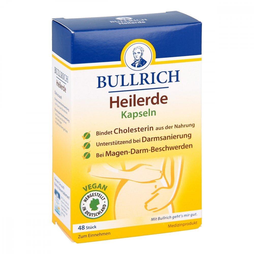 Bullrichs Heilerde Kapseln 48 stk Ihre günstige Online