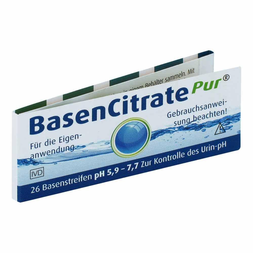 Basen Citrate Pur Teststrph 59 77 Nach Apotrkeil 26 Stk