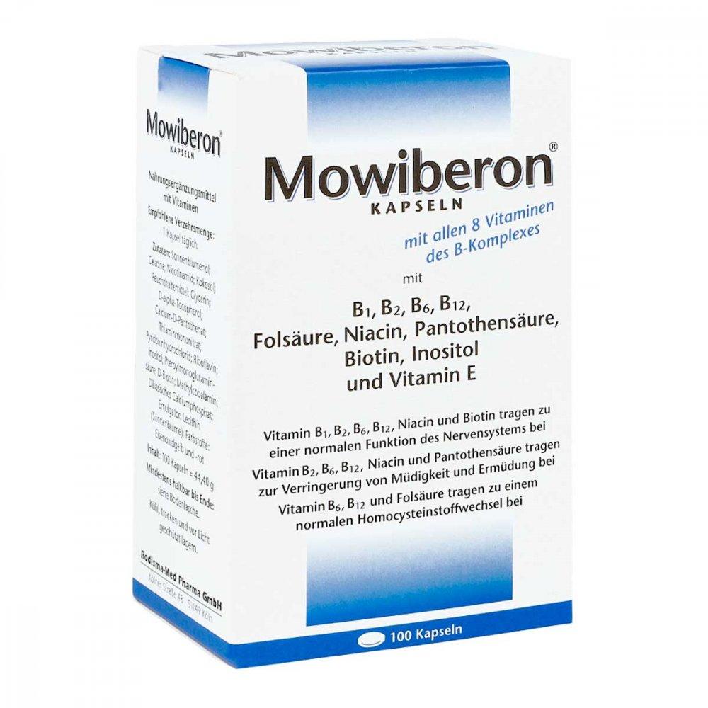 Mowiberon Kapseln 100 stk Ihre günstige Online Versand Apotheke im ...