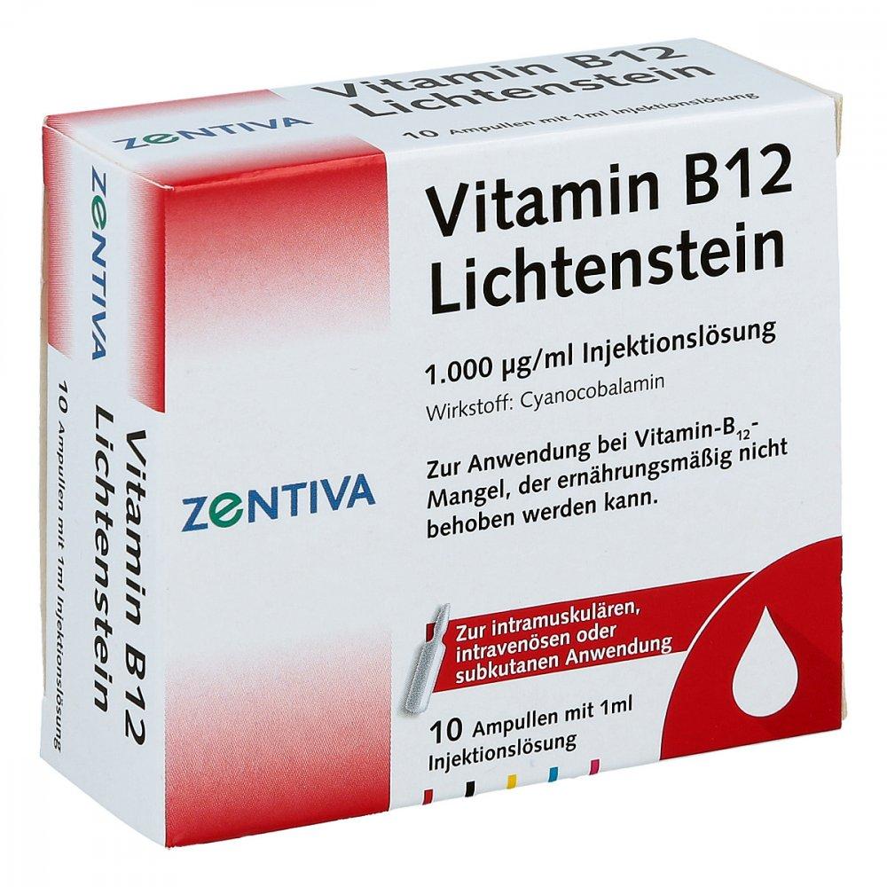 vitamin b12 1000 my g lichtenstein ampullen 10x1 ml ihre. Black Bedroom Furniture Sets. Home Design Ideas
