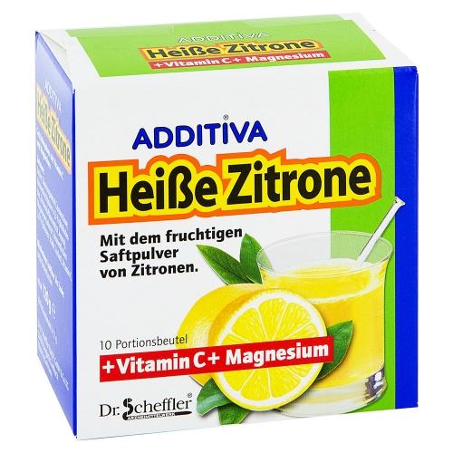 Heiße Zitrone Pulver Schwangerschaft
