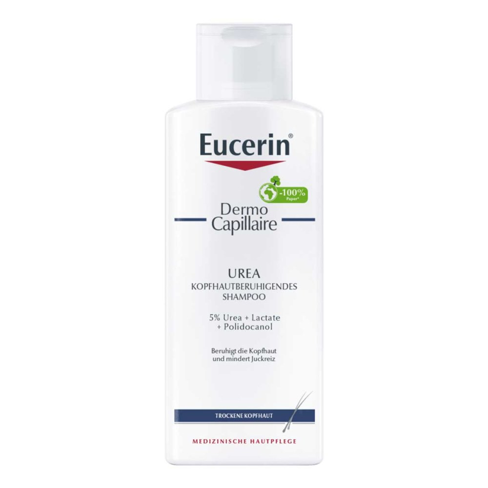 eucerin dermocapillaire kopfhautberuh urea shampoo 250 ml ihre g nstige online versand apotheke. Black Bedroom Furniture Sets. Home Design Ideas