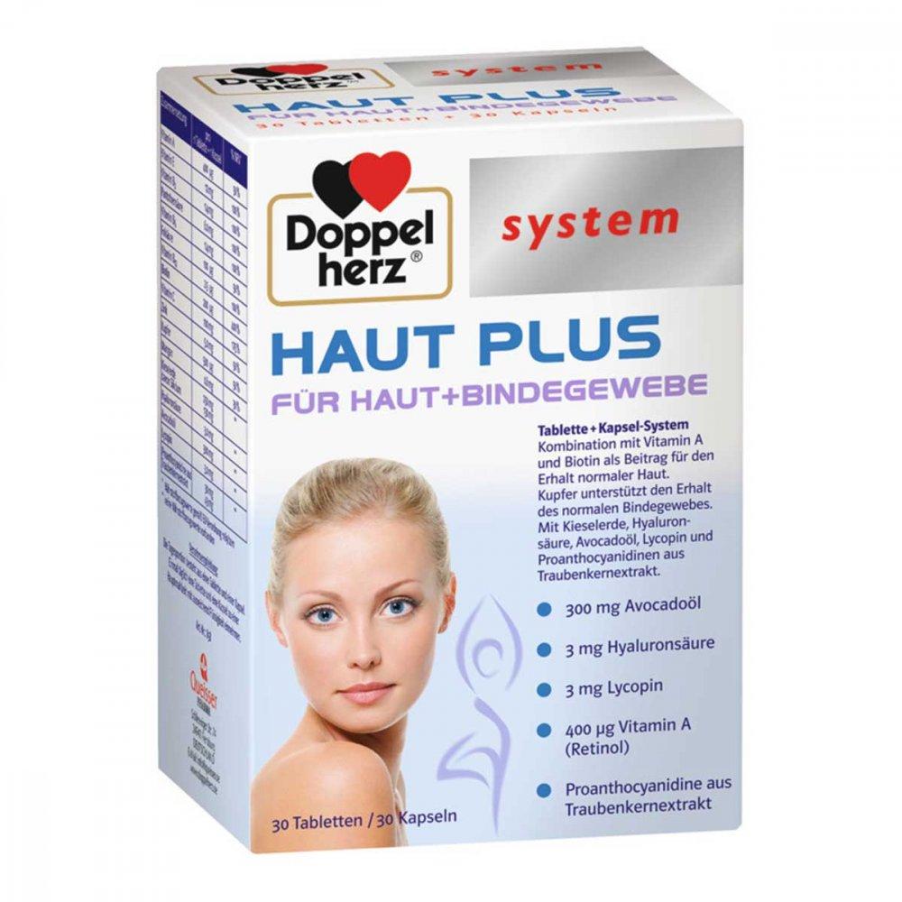 Doppelherz Haut Plus system Tabletten+kapseln 60 stk