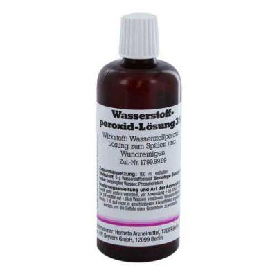 Haare farben mit 3 wasserstoffperoxid