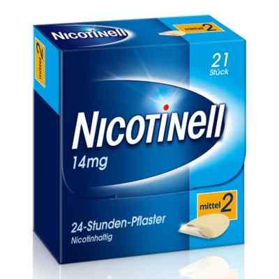 Nicotinell 14mg/24-Stunden-Nikotinpflaster, Mittel (2)  bei Apotheke.de bestellen