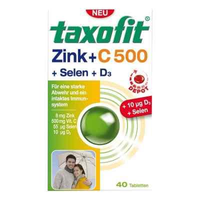 Taxofit Zink+vitamin C500+selen+d3 Depot Tabletten