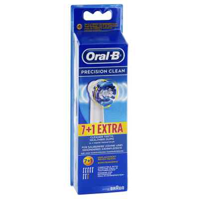 Oral B Aufsteckbürsten Precision Clean 7er+1 bei Apotheke.de bestellen