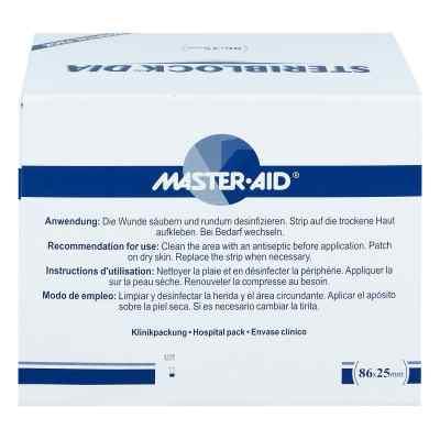 Steriblock Dialyse-pflaster 86x25mm Master Aid  bei Apotheke.de bestellen