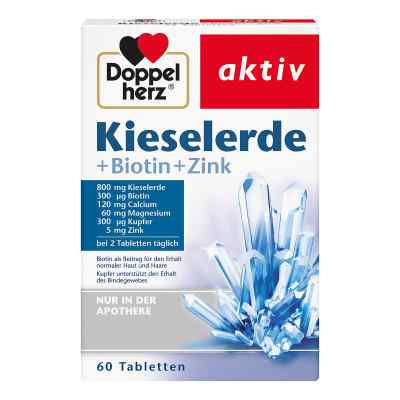 Doppelherz Kieselerde + Biotin Tabletten  bei Apotheke.de bestellen