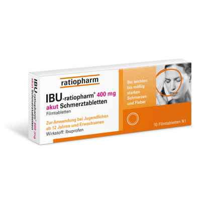 IBU-ratiopharm 400 akut Schmerztabletten  bei Apotheke.de bestellen