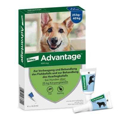 Advantage 400 für Hunde Lösung  bei Apotheke.de bestellen